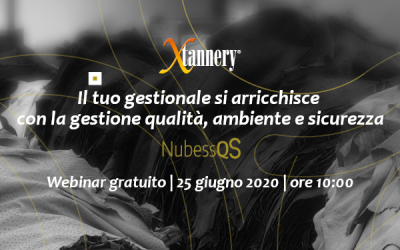 Webinar Gratuito | La Gestione Integrata di qualità, ambiente e sicurezza in Xtannery